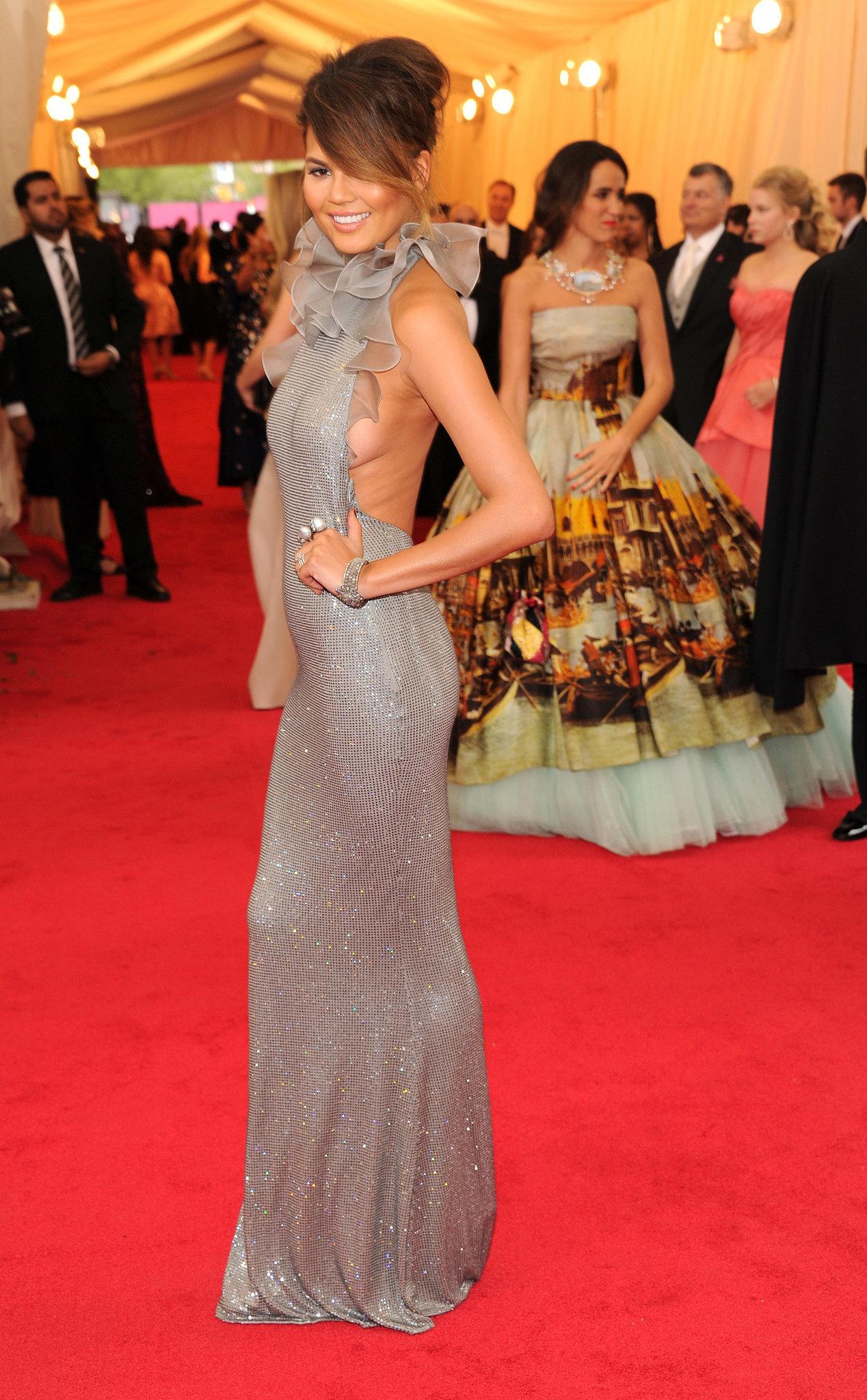 Chrissy Teigen Is Serving Up Skin at the Met Gala