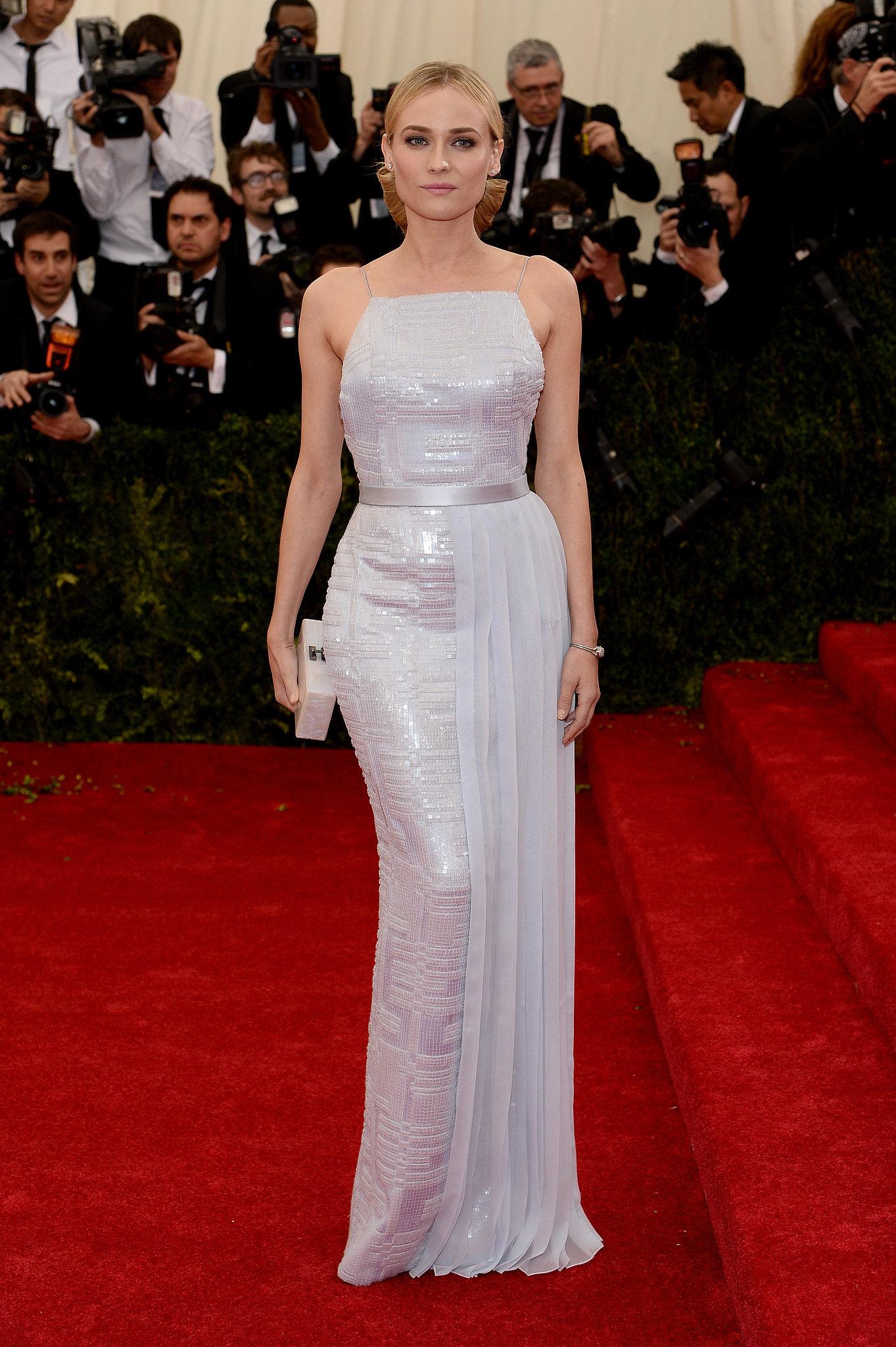 The Gorgeous Diane Kruger Hits a Met Gala Milestone