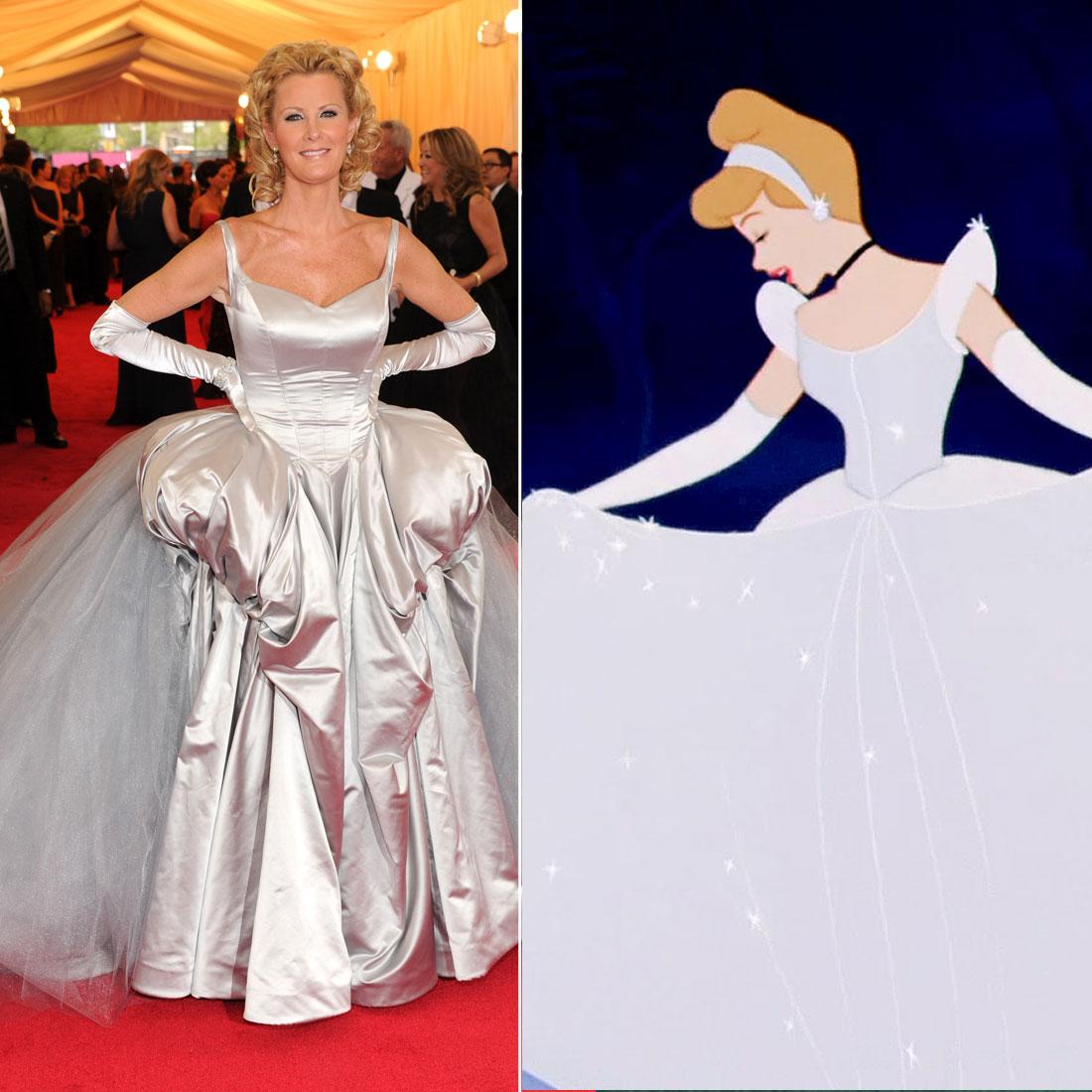 Sandra Lee as Cinderella