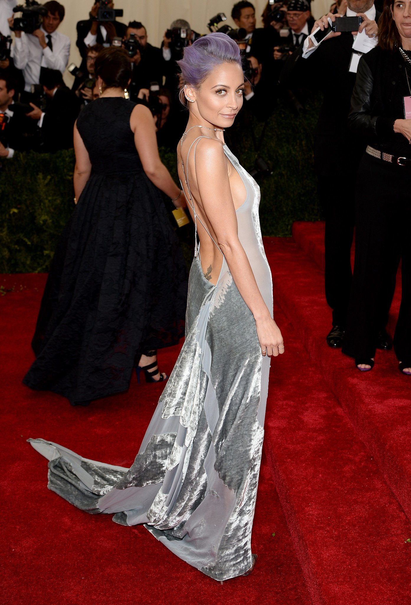 Nicole Richie at the Costume Institute Ball