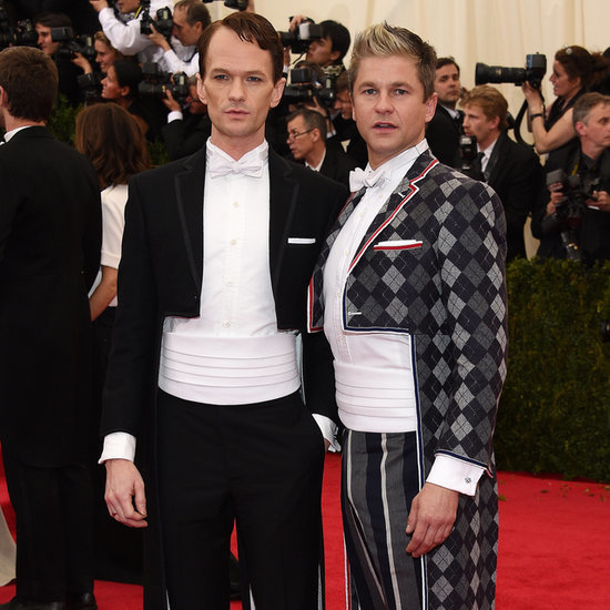 Neil Patrick Harris and David Burtka at the Met Gala 2014