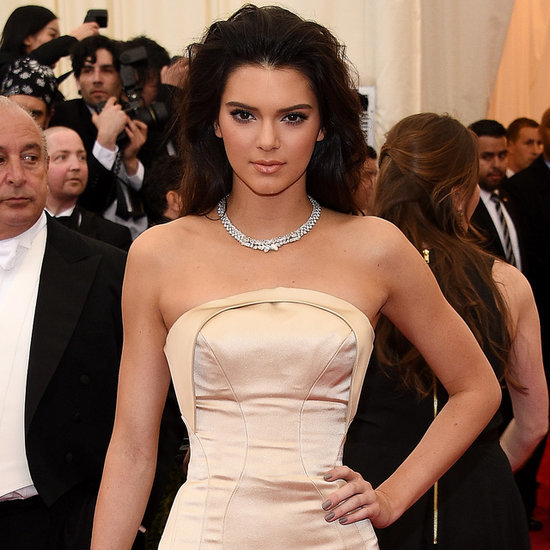 Kendall Jenner at the Met Gala 2014