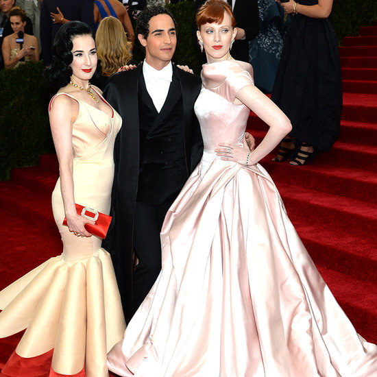 Celebrities Wearing Zac Posen at the 2014 Met Gala