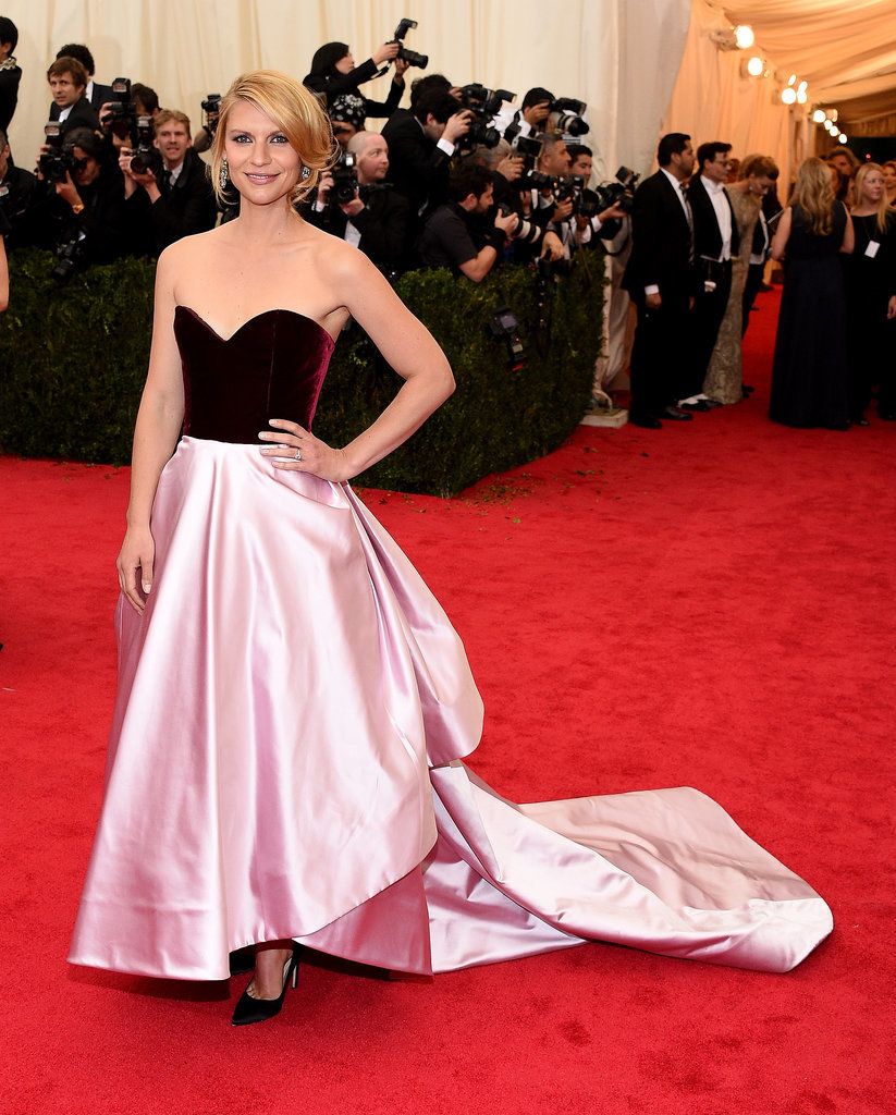 Claire Danes at the 2014 Met Gala