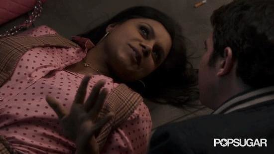 But then! Danny works hard at getting Mindy back, and he finally does it in the final moments of the season two finale, meeting her at the top of the Empire State Building.