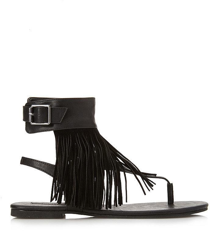 Forever 21 Fringe Sandals