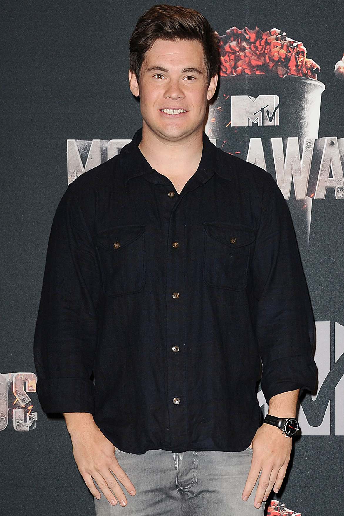 Adam DeVine joined Pitch Perfect 2, along with a bunch of his fellow returning cast members.