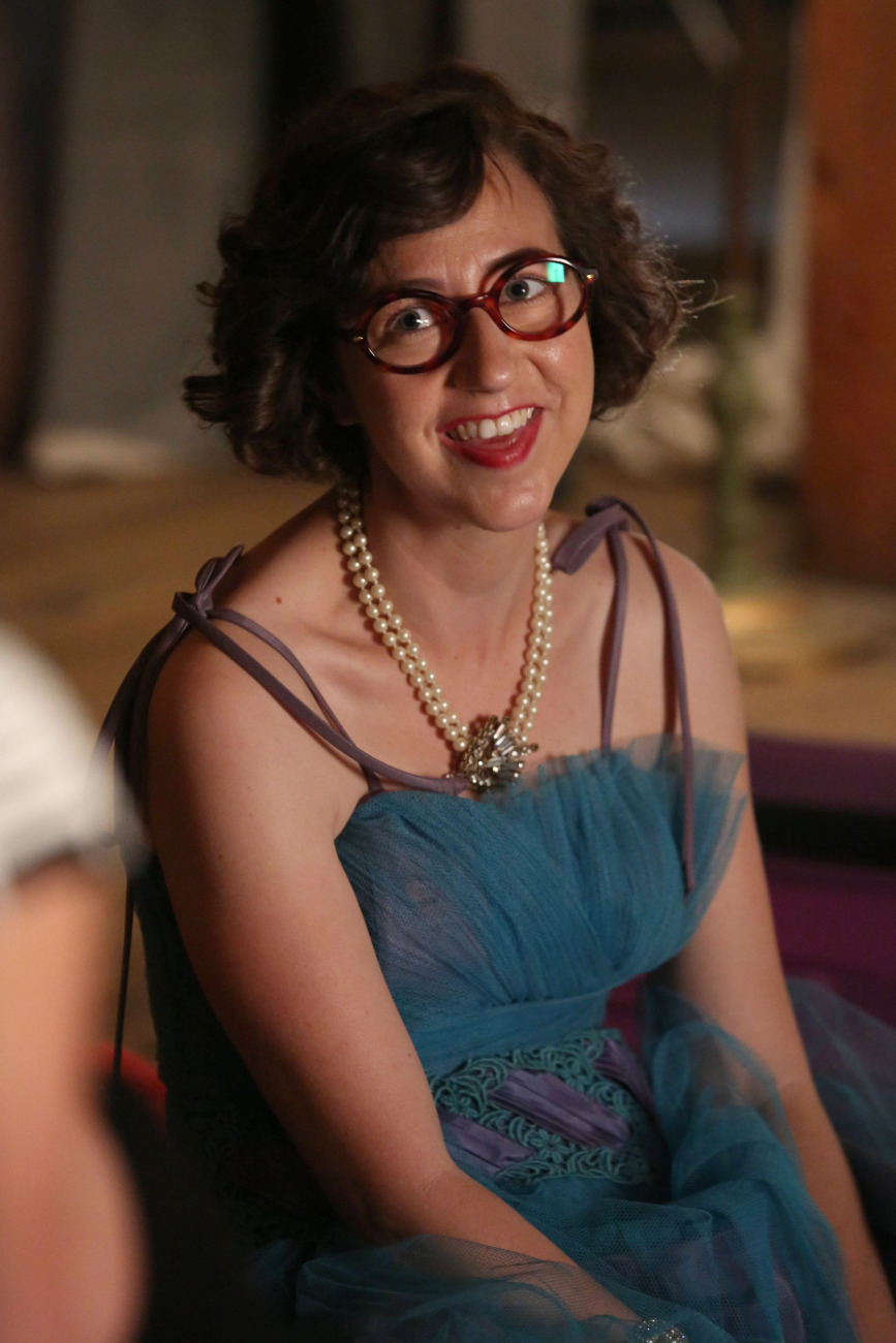 Schaal guest-stars on Glee.