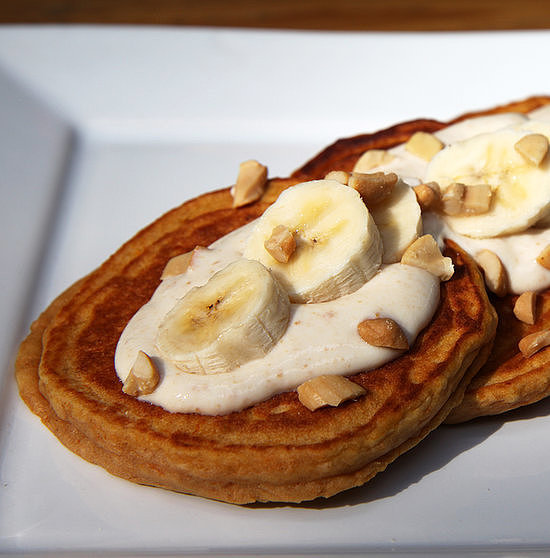 Sweet Potato Banana Pancakes
