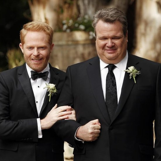 Mitch and Cam Wedding Pictures on Modern Family