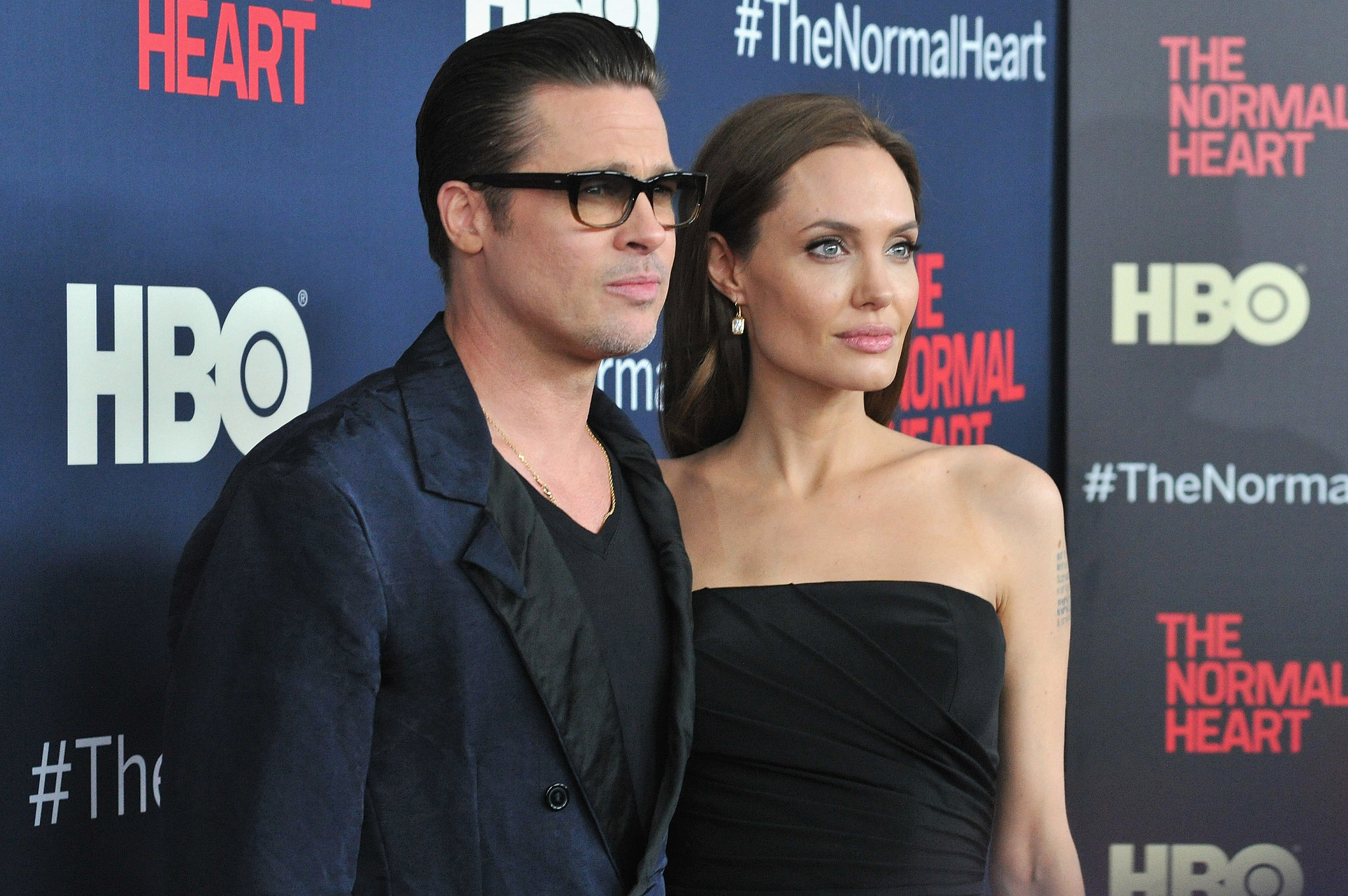 Brad Pitt and Angelina Jolie Step Out For a Star-Studded Premiere