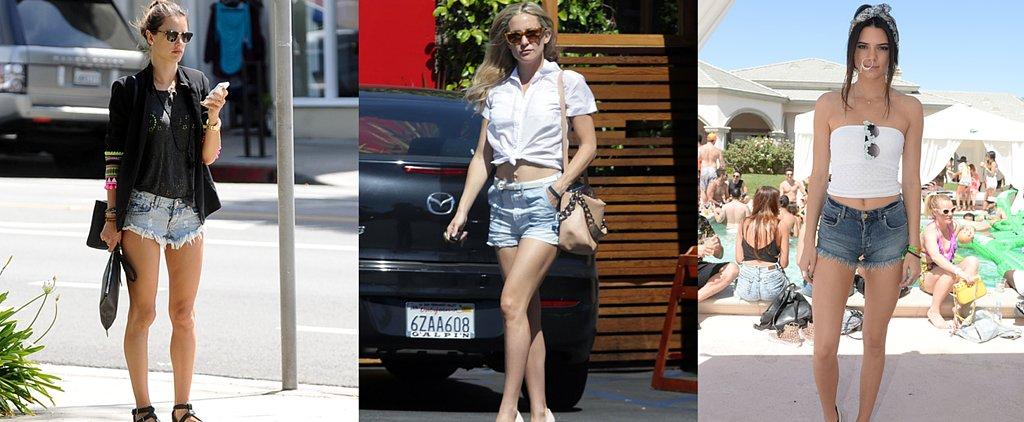 3 Totally Different Ways to Wear Cutoffs