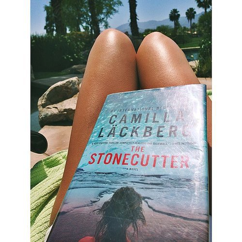 I shared my poolside reading on the POPSUGARLove Instagram. If you're a fan of Swedish thrillers, you should check out Camilla Läckberg's novels — they're fantastic.