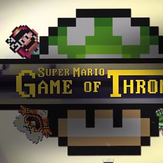 Game of Thrones Intro in Super Mario World