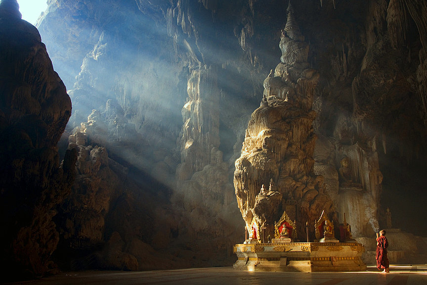Kyaut Sae Cave, Burma