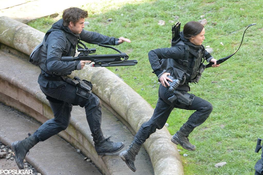 Jennifer also shot a scene with Liam.