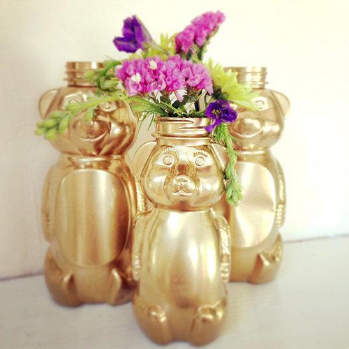 Gilded Honey Bears