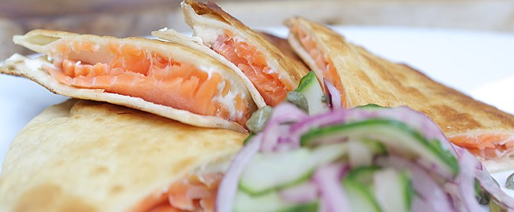 This Smoked Salmon Quesadilla Is Completely Crazy and Crazy Good