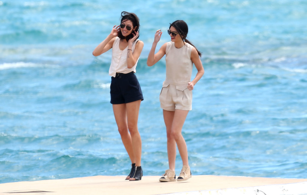 Kendall Jenner Is Really Living It Up in France