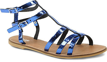 Dune Jas Metallic Sandals