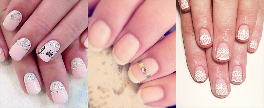The Best Bridal Nail Art on the Internet