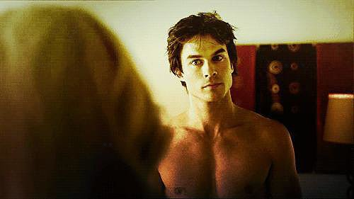 He looks great shirtless.