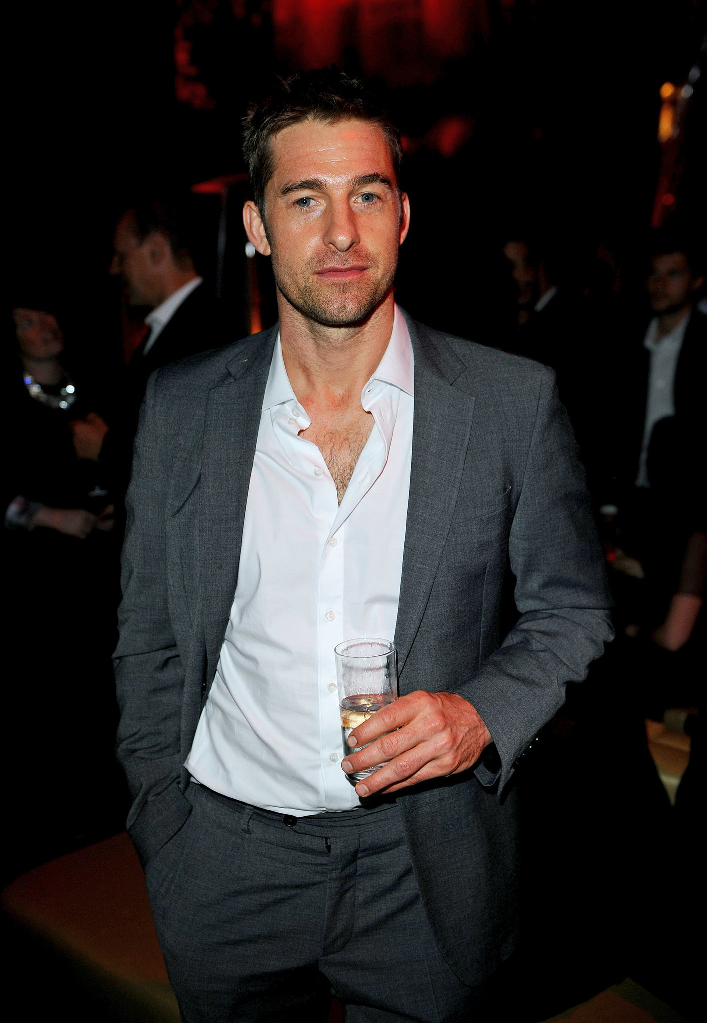 Scott Speedman attended the exclusive bash.