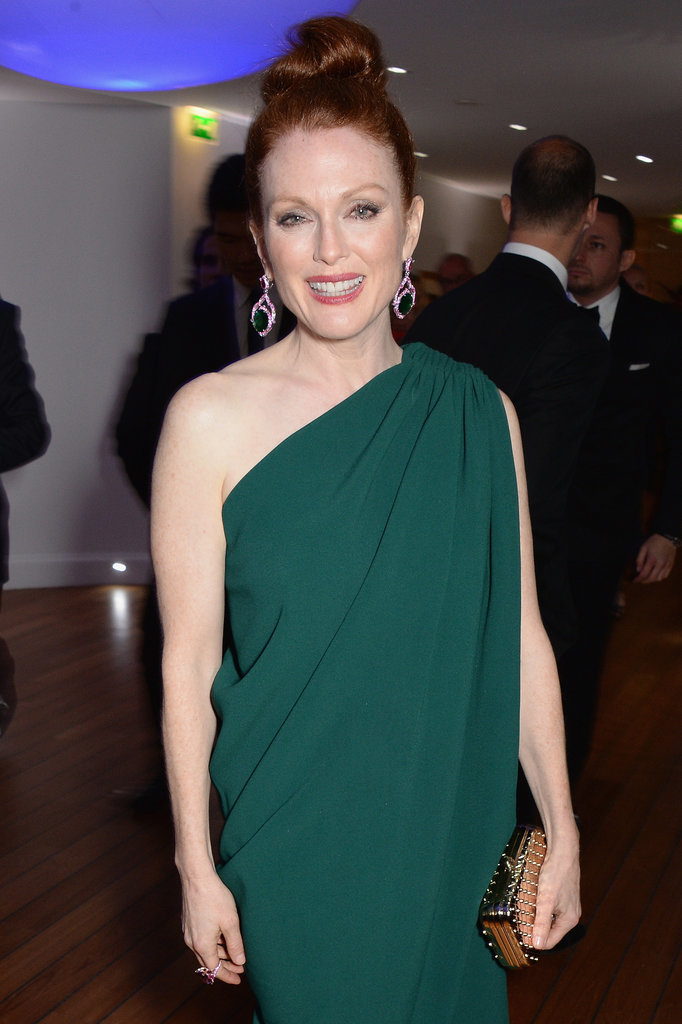 Julianne Moore radiated glamour.