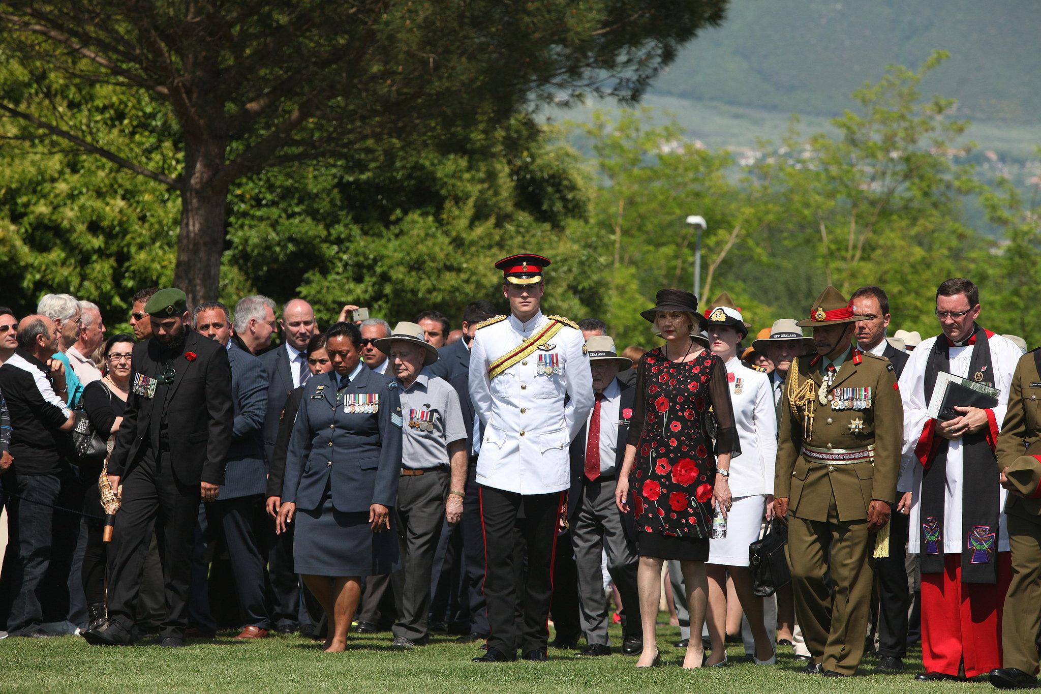 Amid Hookup Rumors, Prince Harry Fulfills His Royal Duties