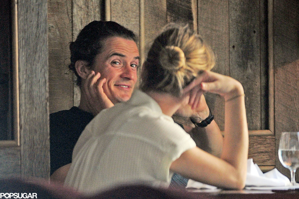 Is Orlando Bloom on a Date? Miranda Kerr Says No