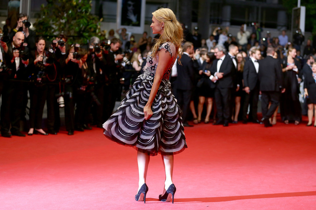 Paris Hilton walked the red carpet at the premiere of The Rover.