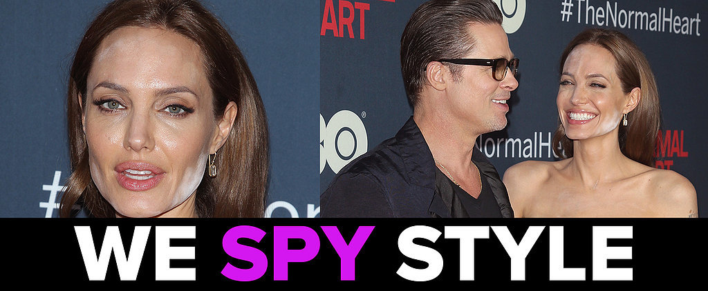 We Spy: Angelina Jolie's Blotchy Makeup Nightmare!
