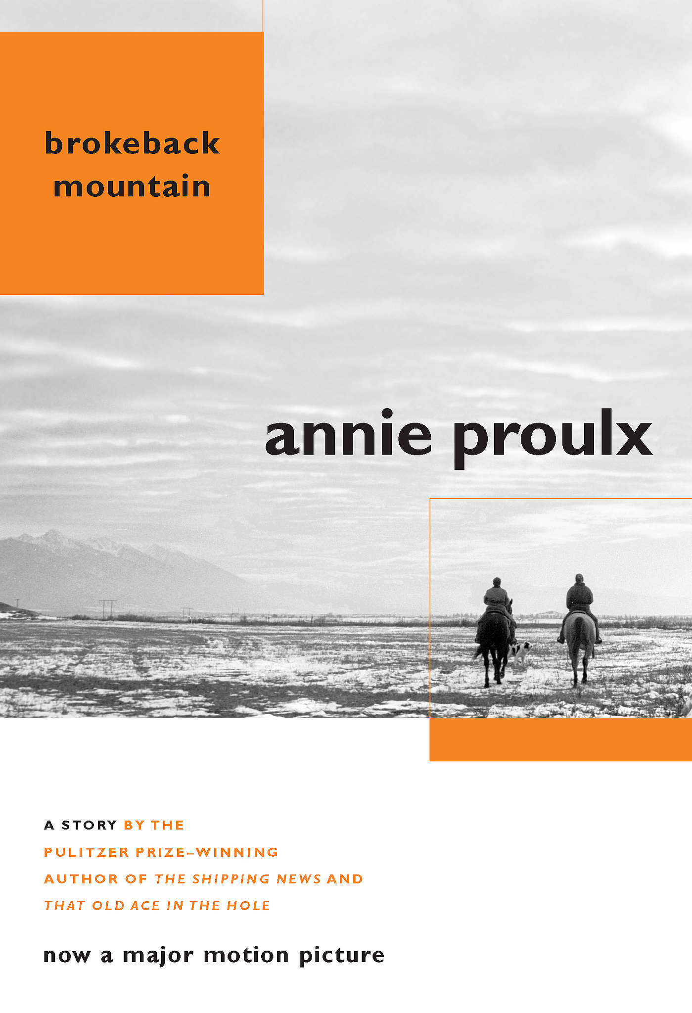 Wyoming: Brokeback Mountain by Annie Proulx