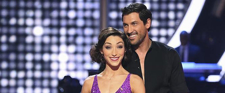 Meryl Davis and Maksim Chmerkovskiy Win Dancing With the Stars!