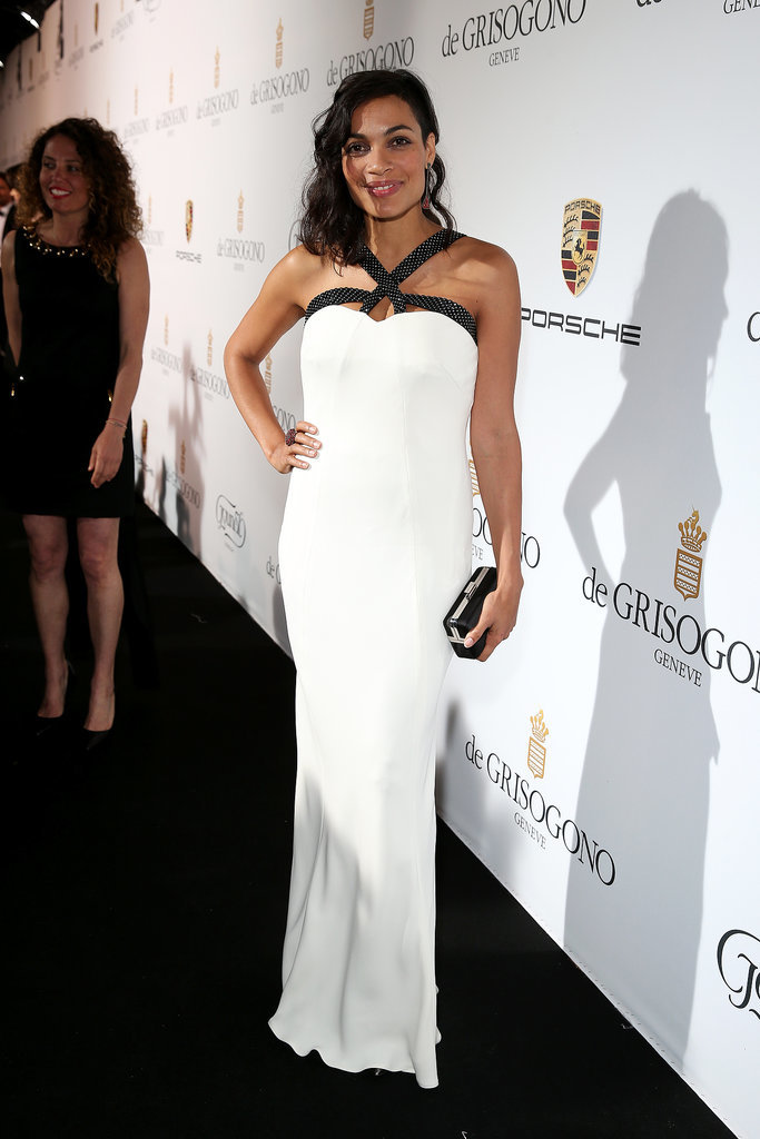 Rosario Dawson at the Fatale in Cannes Party