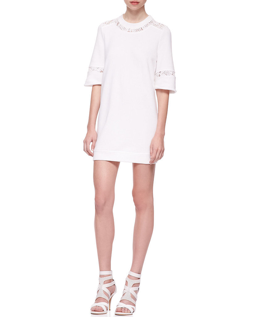 Rebecca Taylor White Knit Dress