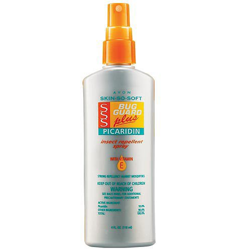 Avon Skin So Soft Bug Guard Plus Picaridin