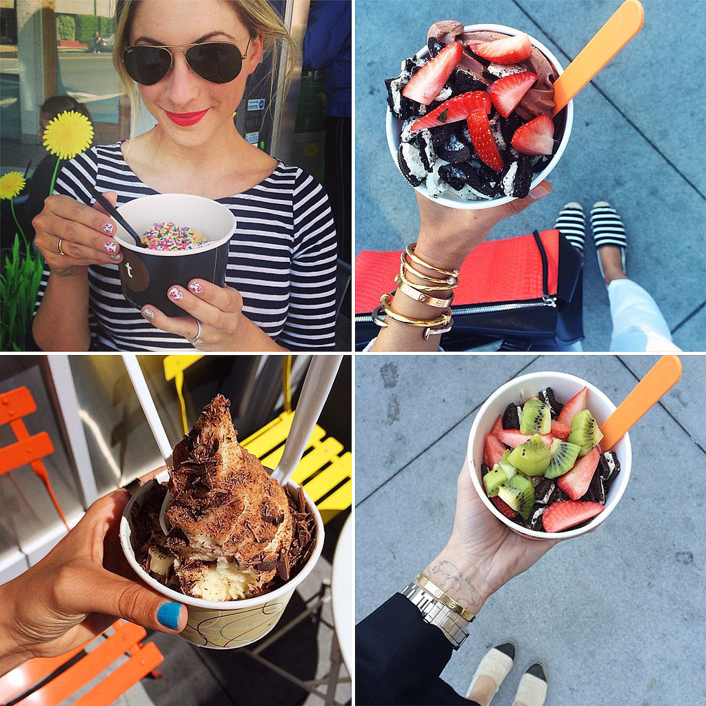Your Snack of Choice Is Froyo