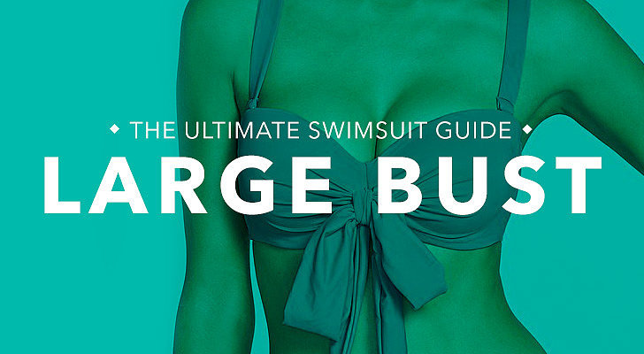 Large Bust: Ample cleavage; you're chesty and require more support up top like Brooklyn Decker, Katy Perry, and Sofia Vergara. What to look for: If you're more well-endowed on top, then support is key. Opt for suits with underwire or molded cups to give the girls the support they need. Avoid ruffles or embellishments up top if you're hoping to minimize the focus on your chest. Tips and tricks from Sabra Krock and Leslie Koren, fit and style experts for Everything but Water:  Bra style tops with underwire and adjustable straps provide extra bust support. The thicker the strap, the more support.  Higher backs are also a good fit for helping keeping the girls up. Molded cups provide extra support and are available in many different styles. Explore suits marked with sizing like your regular bra, including styles that go above a D, which are constructed to support a larger bust.