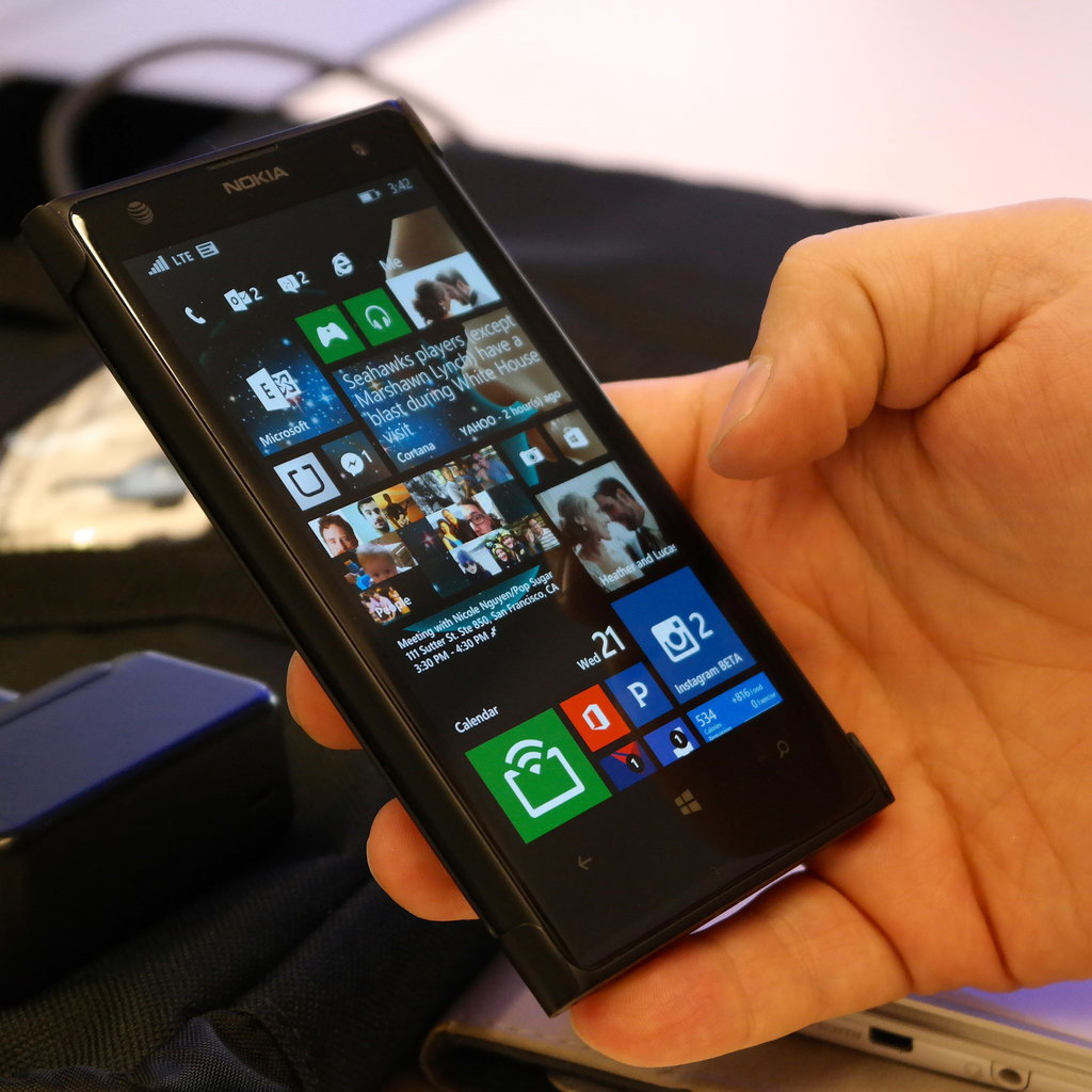 Windows Phone 8.1 Homescreen