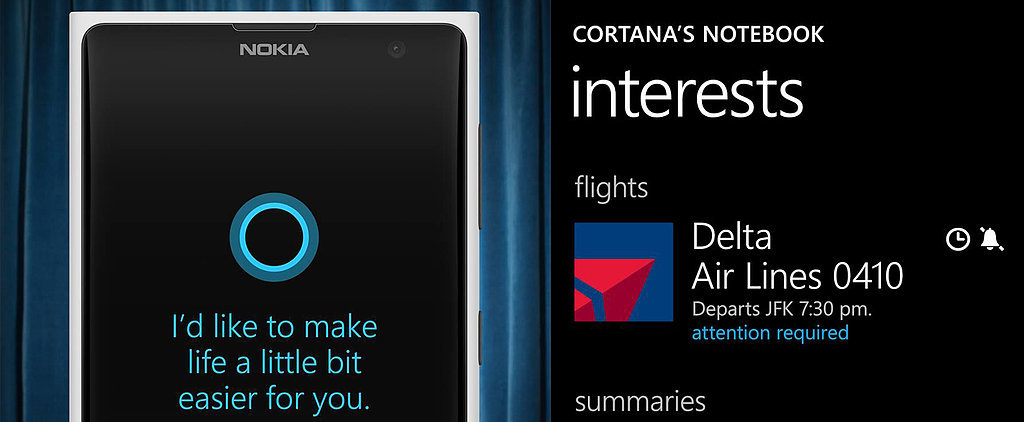 Cortana, Windows Phone's Siri, Is Unexpectedly Amazing