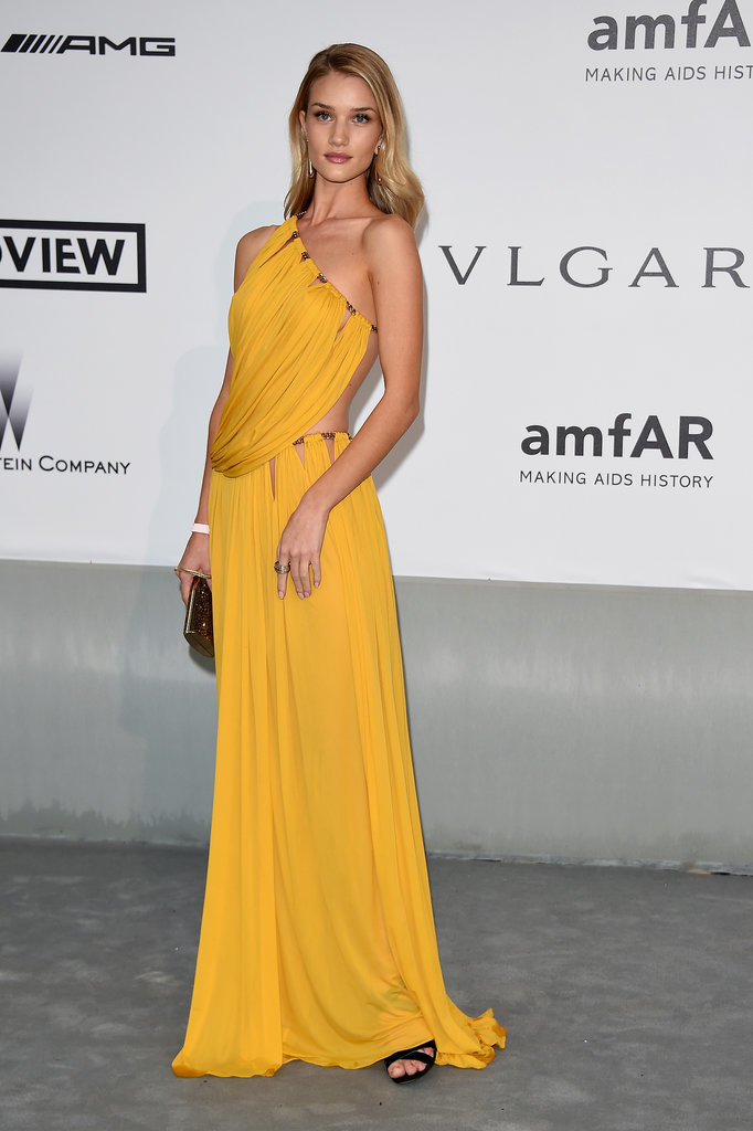 Rosie Huntington-Whiteley at the amfAR Cinema Against AIDS Gala