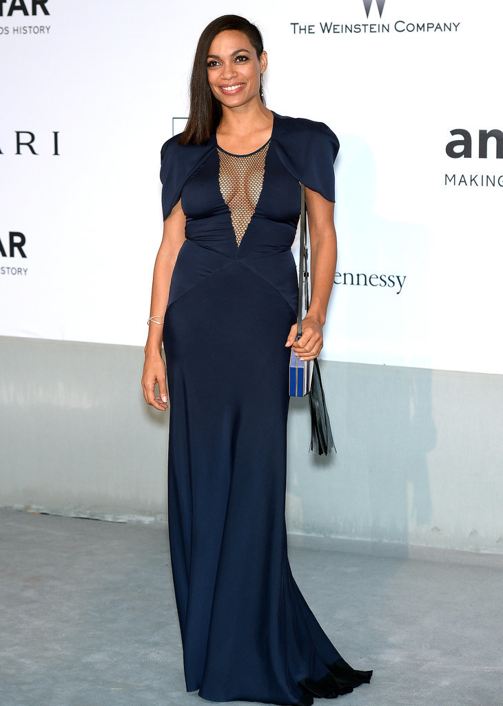 Rosario Dawson at the amfAR Cinema Against AIDS Gala