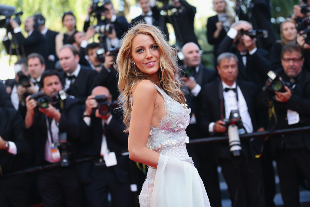 Blake Lively stunned at the Mr. Turner premiere.
