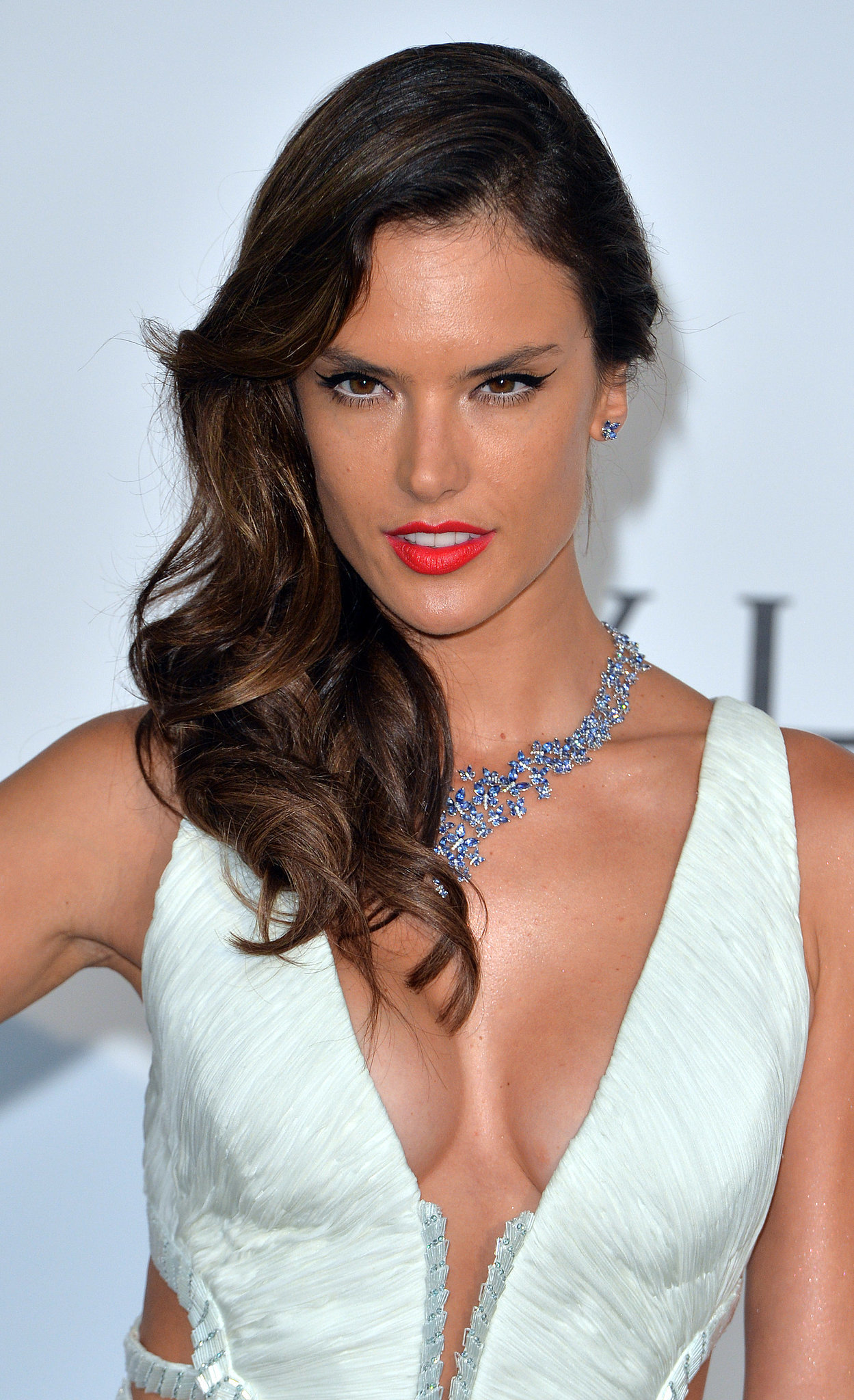 Alessandra Ambrosio | Models Light Up the amfAR Runway ... Alessandra Ambrosio