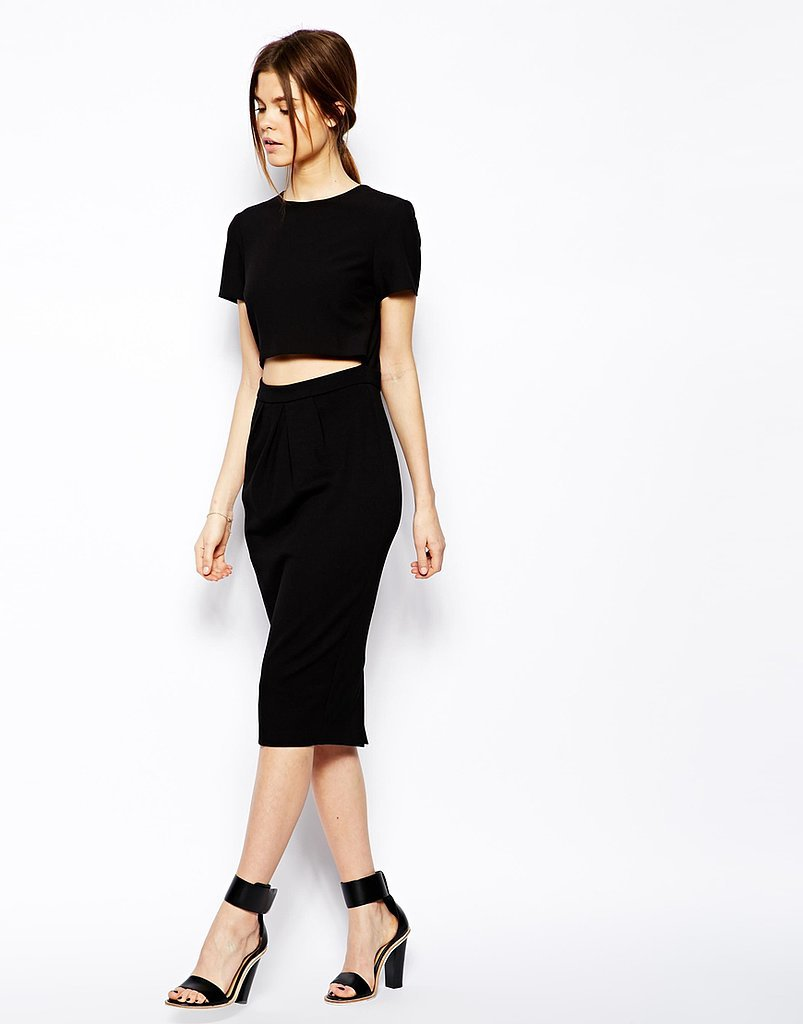 ASOS Cutout Black Dress