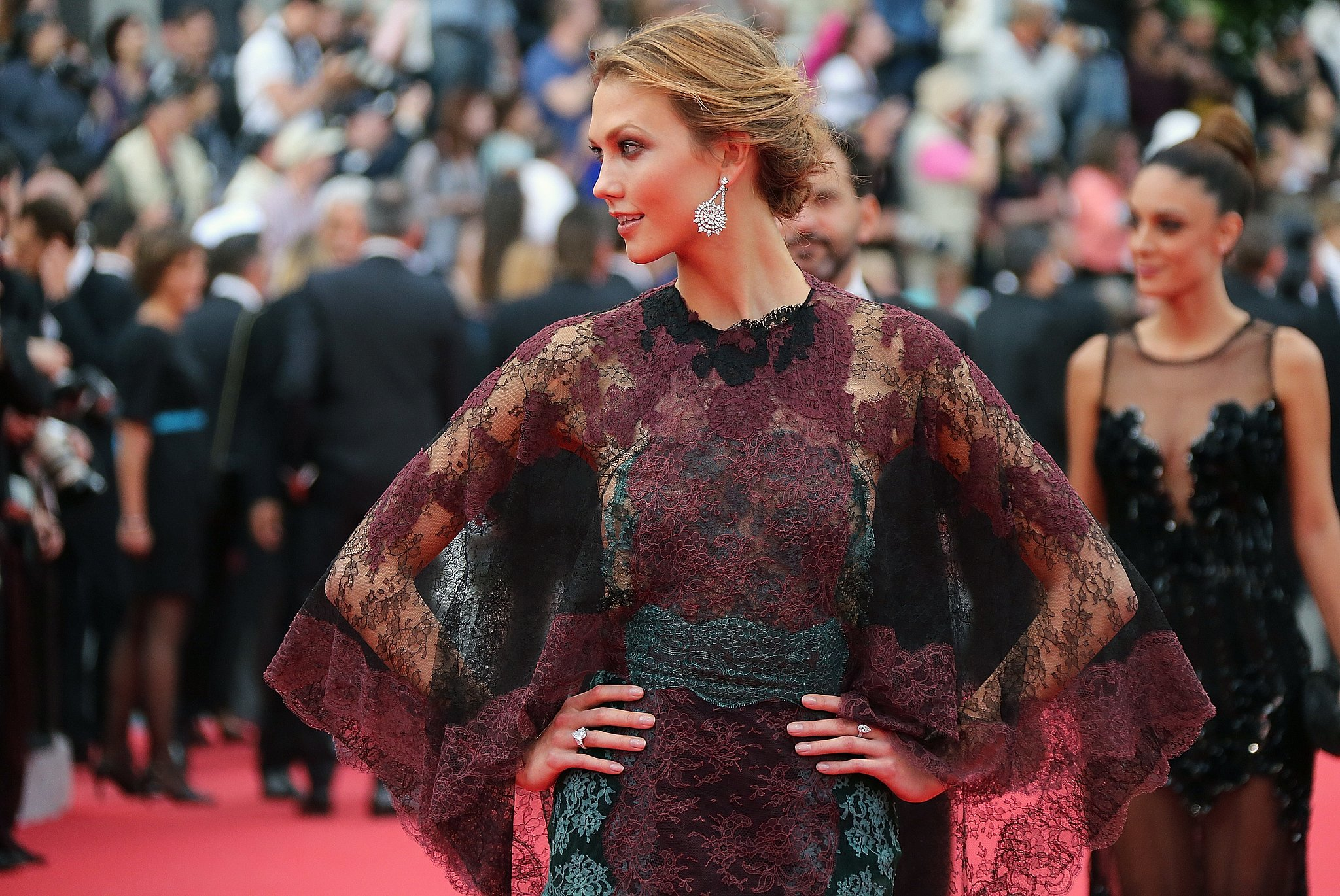 Karlie Kloss at the Grace of Monaco Premiere
