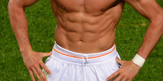 Cristiano Ronaldo's Abs Are The Champions Of Europe