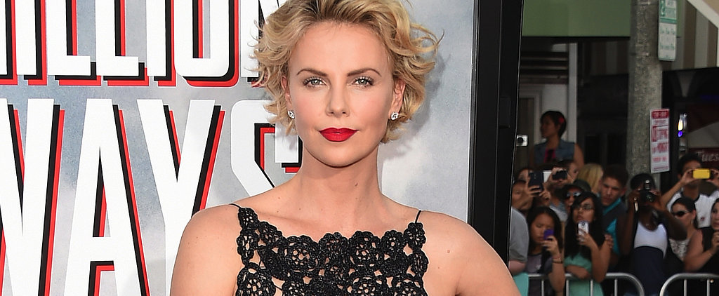 Charlize Theron Looks Sexy in an LBD and Talks Sean Penn!