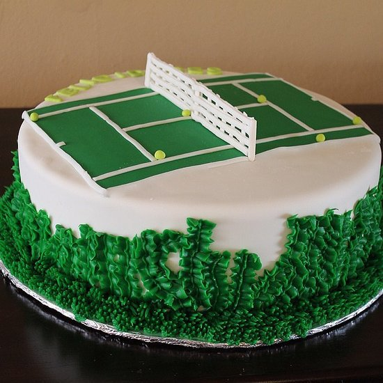 Sports-Themed Birthday Cakes